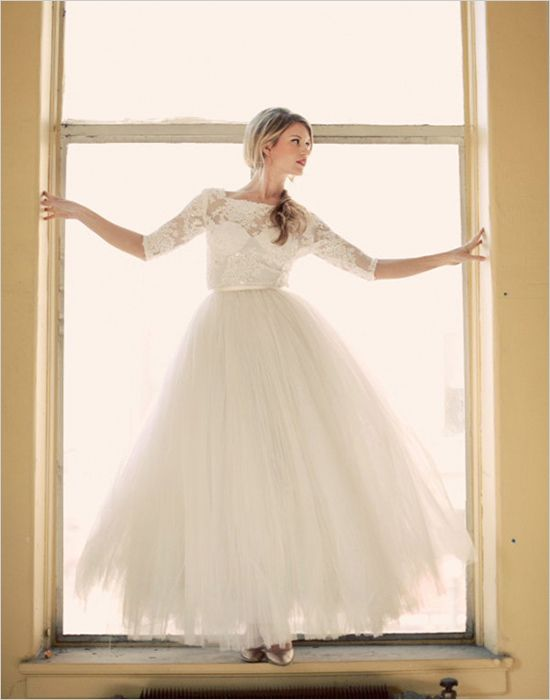 Top 10 Modest Wedding Gowns. #weddingchicks http://www.weddingchicks.com/top-10-modest-wedding-gowns/