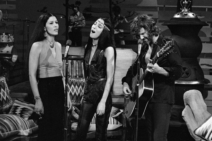 Rita Coolidge performs with Cher and Kris Kristofferson on The Carol Burnett Show in 1975. http://ift.tt/2jgPFmn