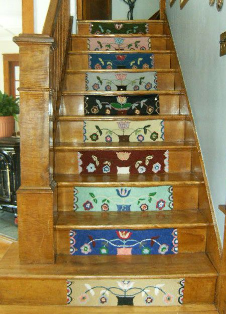I LOVE this! too bad I don't have any stairs!!