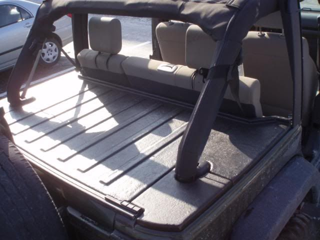 JKU Fiberglass Deck Lid / Security Enclosure - JKowners.com : Jeep Wrangler JK Forum