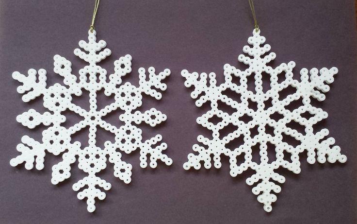 Perler Bead Snowflakes by Joanne Schiavoni