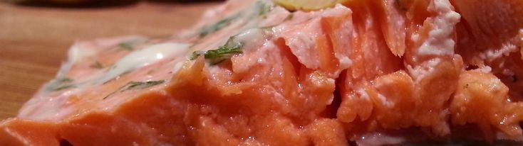 Easy Sous Vide Salmon with Lemon and Dill