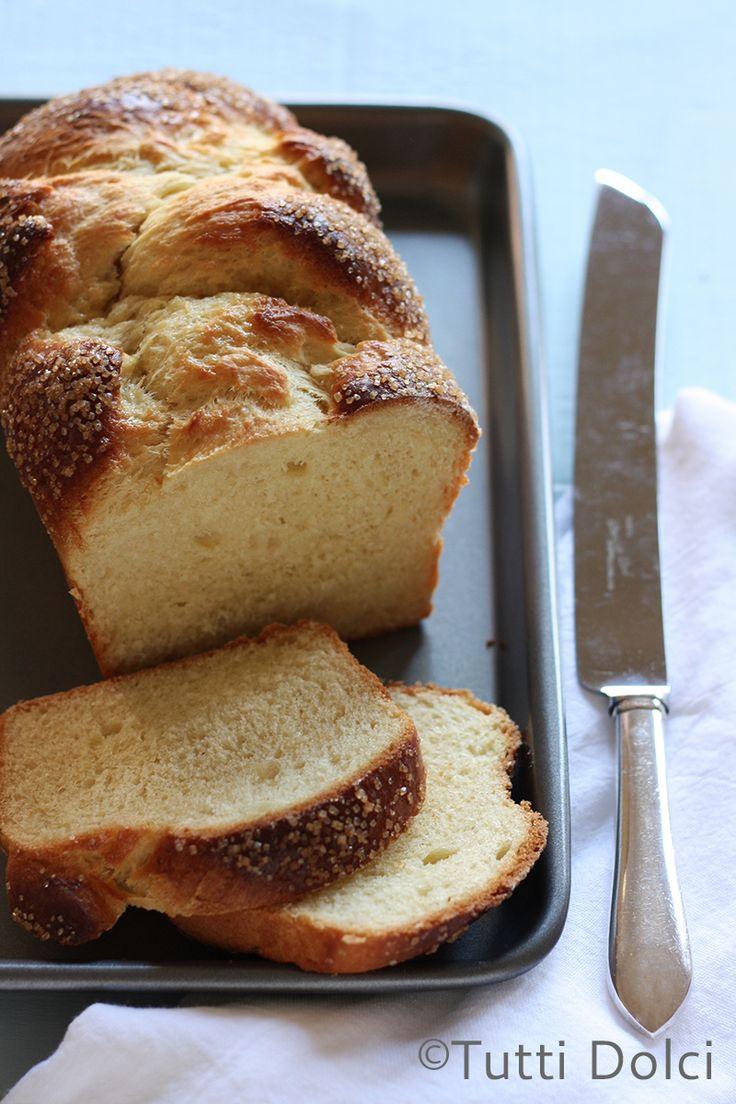 Brioche - no-knead brioche, easy to make at home
