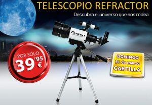 Llévate un Telescopio Refractor con El Mundo por sólo 39,95 euros... ¡Aquí tienes todos los datos http://ofertasdeprensa.offertazo.com/llevate-un-telescopio-refractor-con-el-mundo !