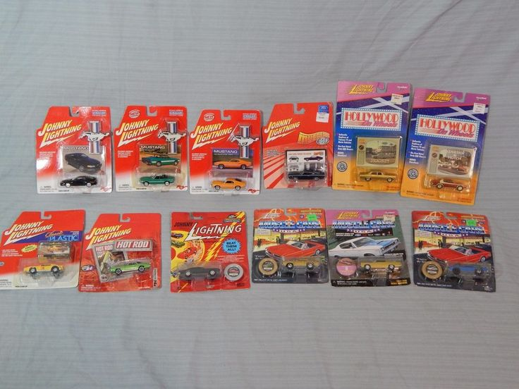 Lot 12 Johnny Lightning Diecast Car Models Muscle Cars USA Hot Rod New Carded #JohnnyLightning