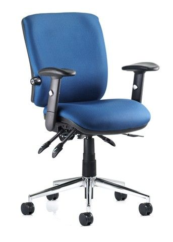 Approved by Chiropractors this ergonomic office chair is perfect for long usage.