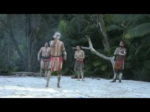 Australian Aboriginal Fire Dance
