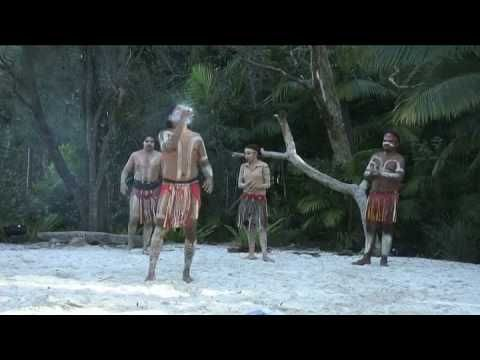 Australian Aboriginal Fire Dance - YouTube