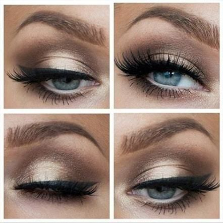 Copper Eye Makeup For Traditional Profile