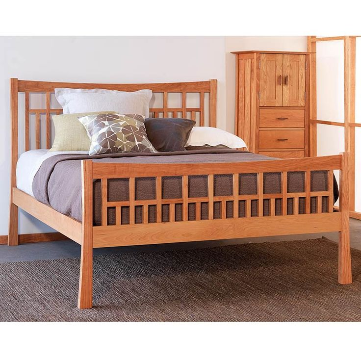 118 best Solid Wood Beds images on Pinterest | Solid wood beds, 3 ...