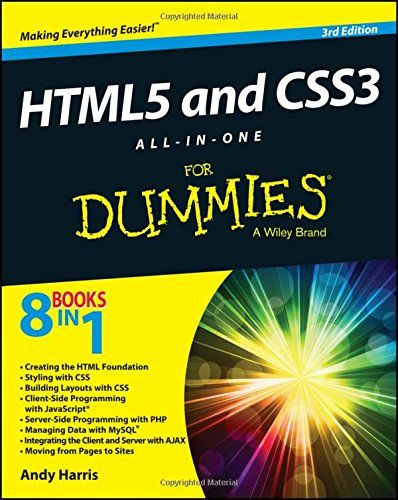 Html5 And Css3 All In One For Dummies Amzn Pinterest Blog