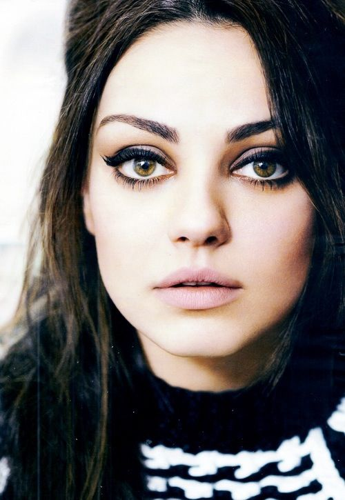 Mila Kunis --  okay, she's seriously hot and freaking hilarious. no one can deny that