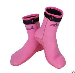 3mm Neoprene Snorkeling Fins Socks Scuba Dive Shoes Non-slip Boot Wetsuit Prevent Damage Keep Warming Winter Swim Seaside