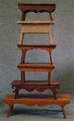 HOME DECOR – FURNITURE – SEATING – STOOL – Six Assorted Cricket Stools