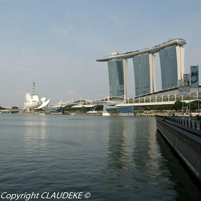 Marina Bay Sands Singapore  © CLAUDEKE www.claudeke.com