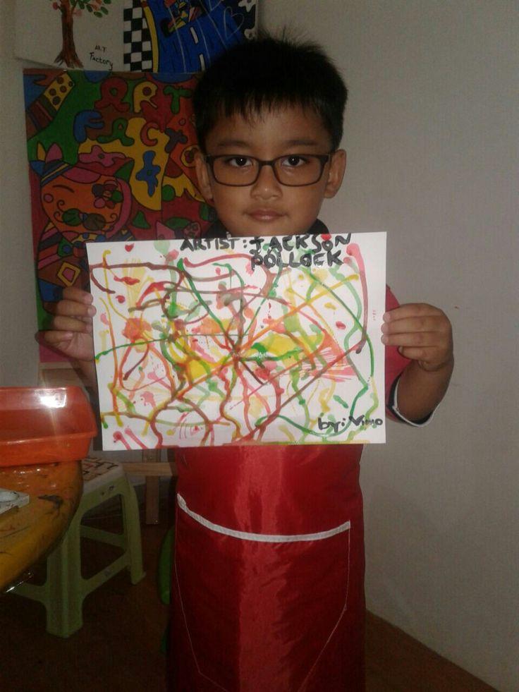 Vino-DK SOLO-Jackson Pollock