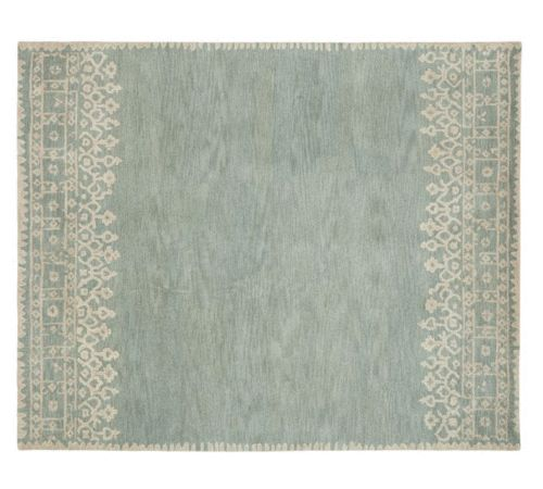 Moroccan Scroll Tile Light Blue Handmade Persian Style: 17 Best Images About Pottery Barn Rugs On Pinterest