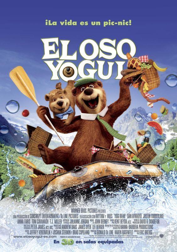 """El oso Yogui (2010) """"Yogi Bear"""" de Eric Brevig - tt1302067"""