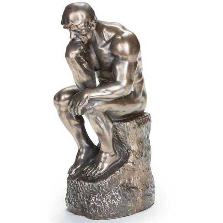 The Thinker - Rodin  #sale #freeshipping #promocode #couponcode #mensgifts #uniquegifts #mancave #memorabilia #sculptures #sportsmemorabilia #moviememorabilia #mensaccessories #novelty #thethinker #rodin