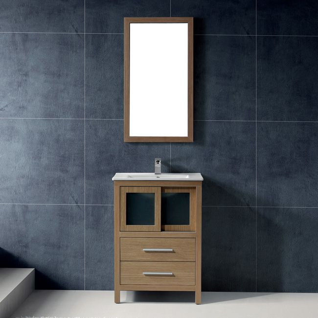 Website With Photo Gallery  inch Alessandro Single Bathroom Vanity with Mirror