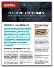 Resilient Outcome: Academic Engagement by Youth with Histories of Homelessness - Homeless Hub Research Summary Series  http://homelesshub.ca/resource/resilient-outcome-academic-engagement-youth-histories-homelessness-homeless-hub-research#sthash.D9oSVPYN.dpuf