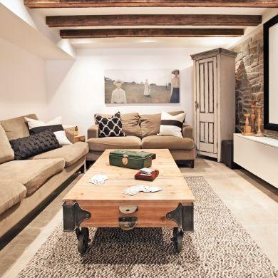 les 25 meilleures id es concernant sous sol rustique sur. Black Bedroom Furniture Sets. Home Design Ideas