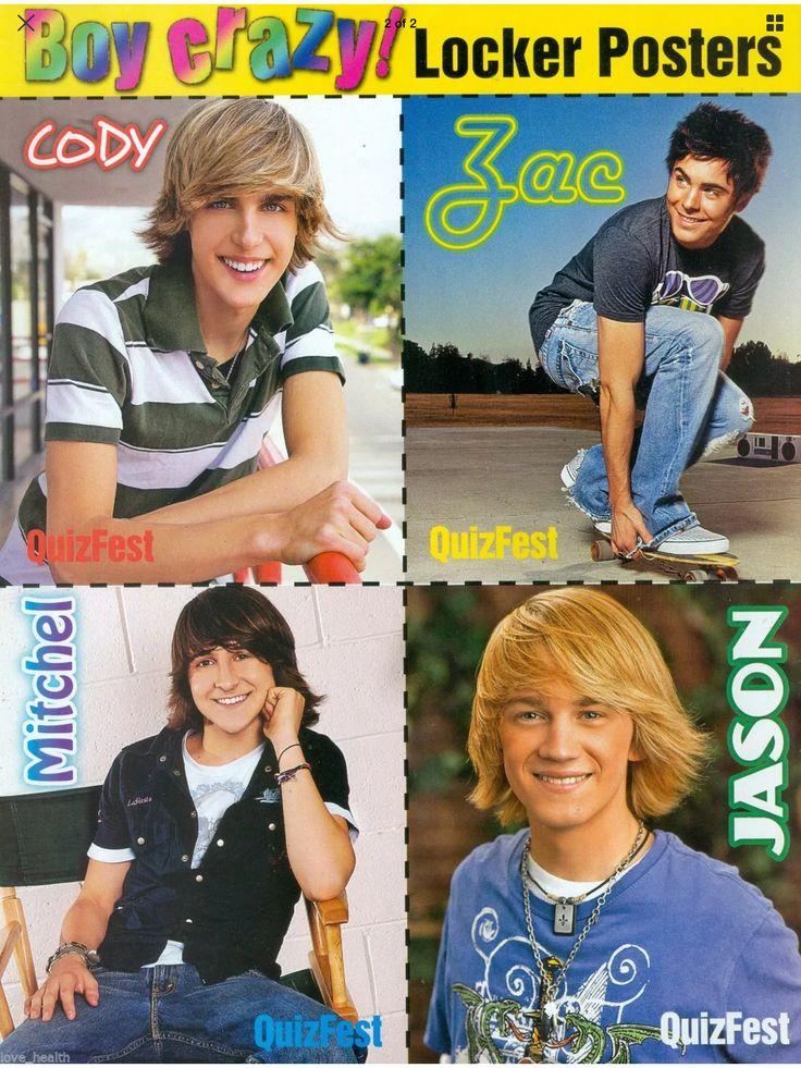 Cody Linley, Zac Efron, Mitchel Musso, Jason Dolley (QuizFest)