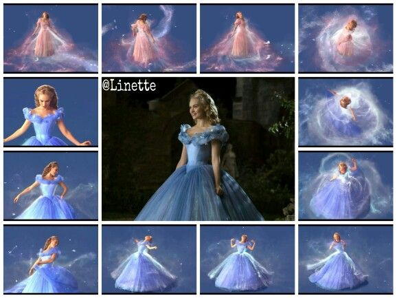 The magical dress transformation ☆ One of the highlights ...