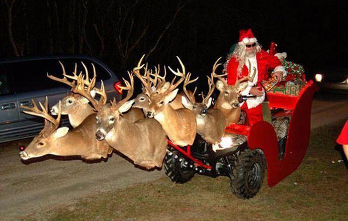 redneck   santa a redneck bosslady 2012 12 25 funny redneck uncategorized 2