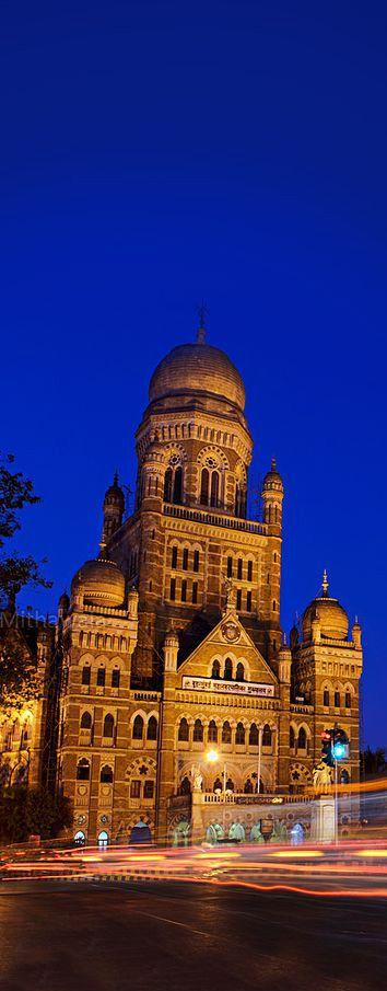 Mumbai Municipal Corporation building, Mumbai, India