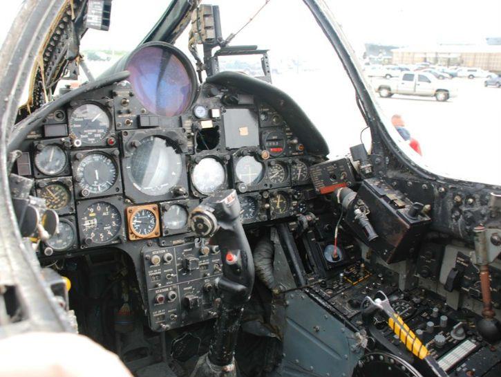 Vought F-8 Crusader Cockpit