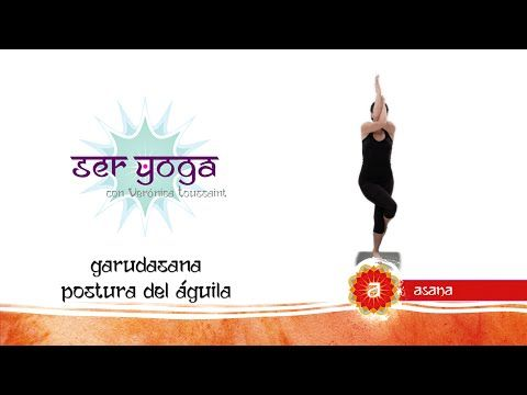 ser yoga  asana 54  garudasana postura del Águila  asana yoga ejercicios de yoga