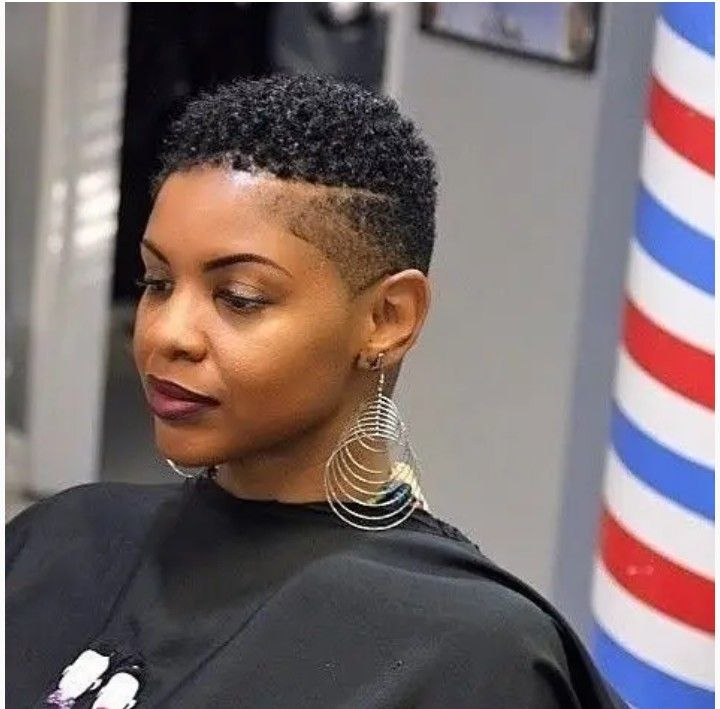 Pin By Caring For Natural Hair On Fashion Beauty Hair Short Natural Hair Styles Tapered Haircut Natural Hair Cute Short Haircuts