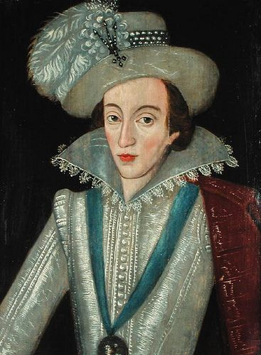 Henry Frederick, Prince of Wales, son of James I, grandson of Mary, Queen of Scots - (19 February 1594 – 6 November 1612) was the eldest son of King James I & VI and Anne of Denmark. His name comes from grandfathers Henry Stuart, Lord Darnley and Frederick II of Denmark.