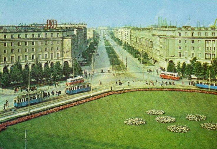 Plac Centralny 1965 r.