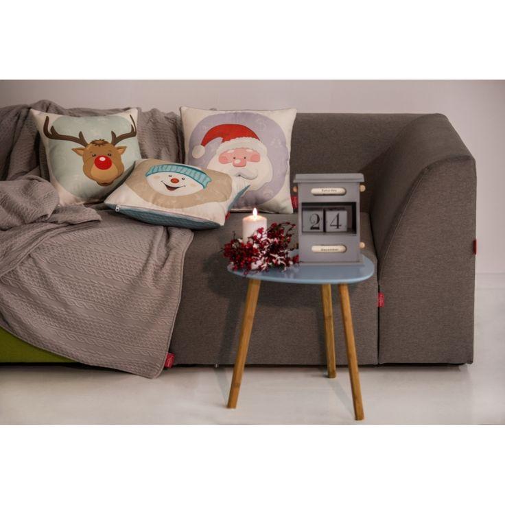 Christmas Feeling Collection  #pillow #reindeer #rudolf #santa #snowman #christmas #present #interiordesign #homedeco #joy #charity #donation