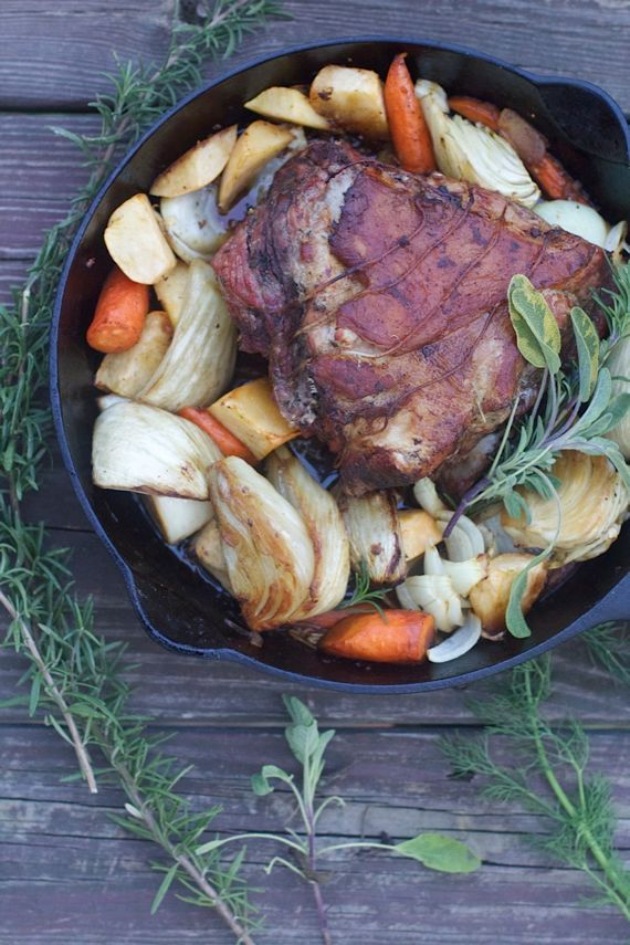 Mock Porchetta with Root Vegetables, the Best Roast Pork You'll Ever Eat