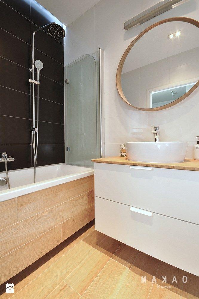 Ursynów Central Park - mieszkanie 37 mkw na wynajem - Łazienka, styl nowoczesny - zdjęcie od MAKAO home