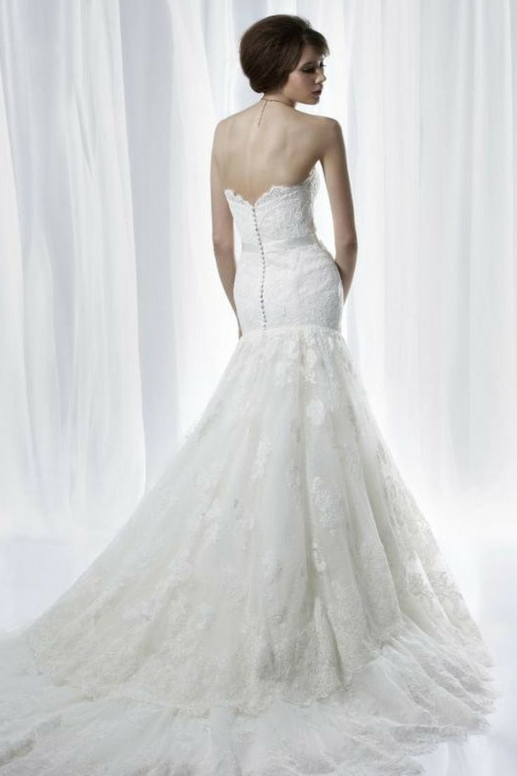$219.99  #Lace #Wedding #Dresses #Affordable #Wedding #Dresses #Trumpet #Mermaid #wedding #dresses #Court # Train #wedding #dresses