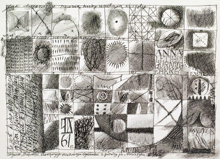 Zbigniew Makowski ink on paper