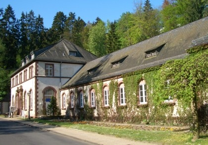 Bad Schwalbach Moorbadehaus in Germany
