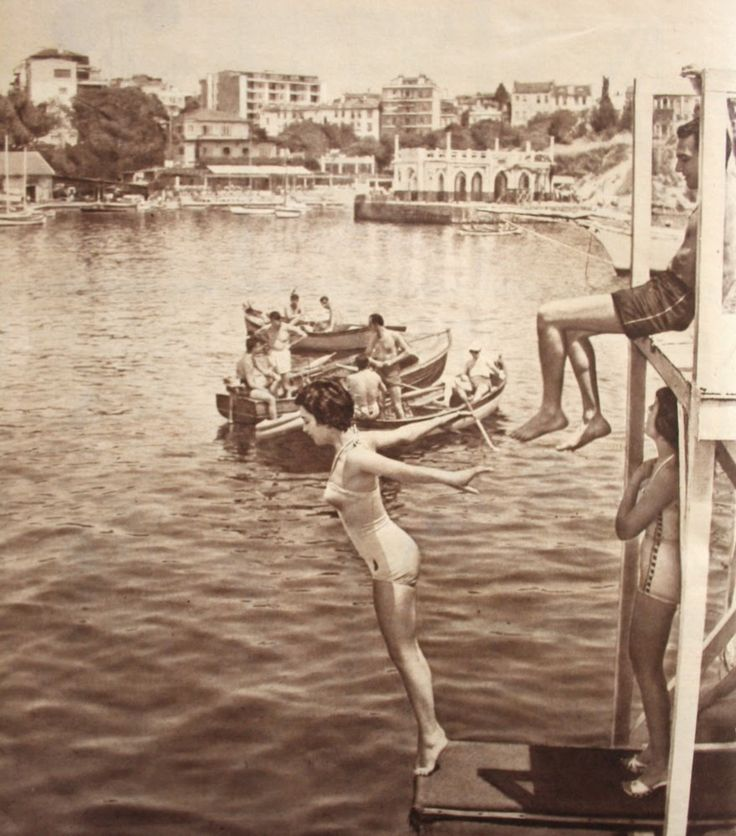 OĞUZ TOPOĞLU : 1958 moda deniz kulübü