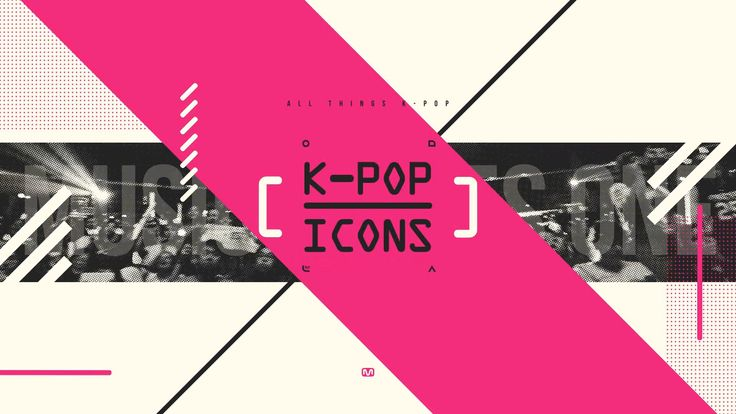 "다음 @Behance 프로젝트 확인: ""'KPOP_ICONS' OPENER test work""…"