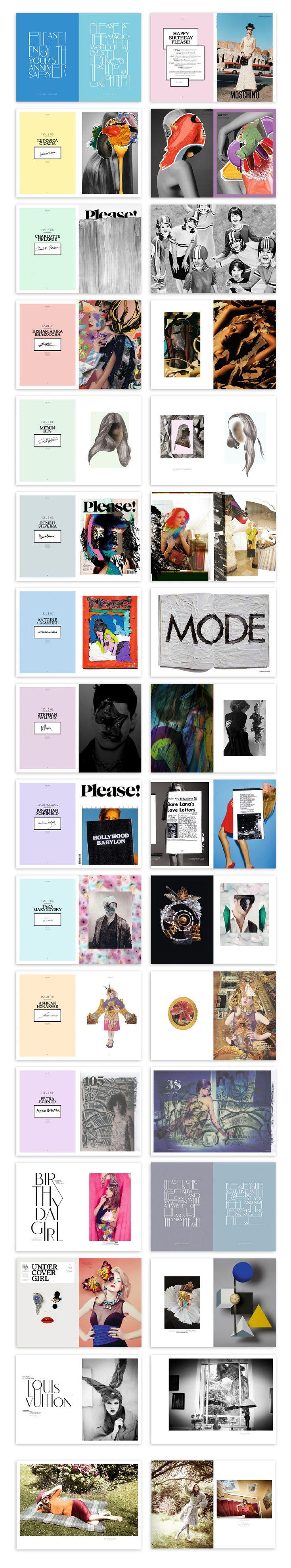 PLEASE! MAGAZINE - Leslie David