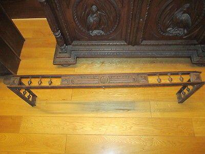Zierleiste Schrankkrone Holzaufsatz Schrankaufsatz Antik Holz für alten Schrank