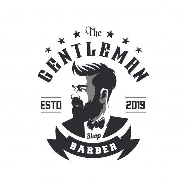Awesome Barbershop Logo Design Vector Barber Logo Logo Design Barbershop Design