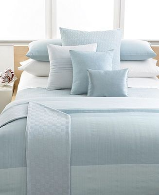 calvin klein home studio laguna rib stream collection duvet covers bed u0026 bath