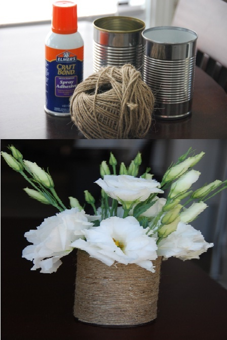 I could do this easily.  Would look great in Clark's old room turned Craft room.  Twine & Tin