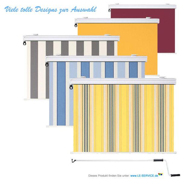 senkrechtmarkisen als vertikale beschattung oder als sichtschutz f r balkon und terrasse. Black Bedroom Furniture Sets. Home Design Ideas