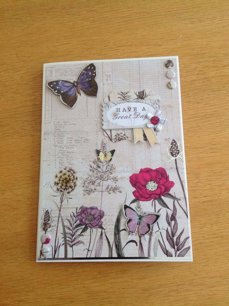 Craftwork cards Botanica kit